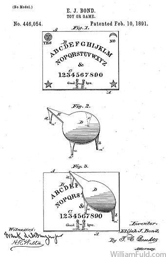 ouija-Patente