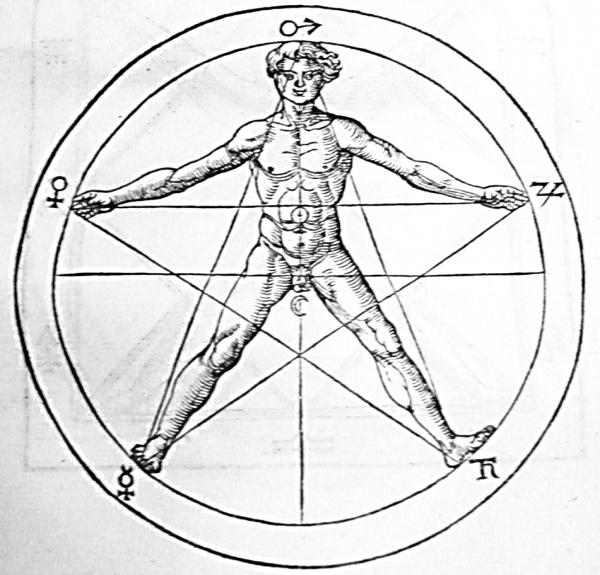 pentagrama-humano